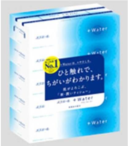 エリエール+water