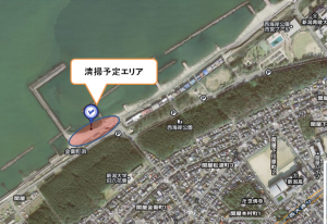 海岸清掃MAP