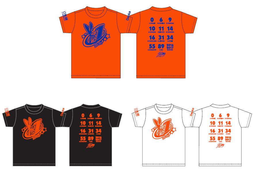 6thシーズンロスター&スローガンTシャツ